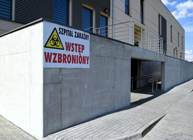 Jednoimienny Szpital Zakaźny w Łańcucie /Darek Delmanowicz /PAP