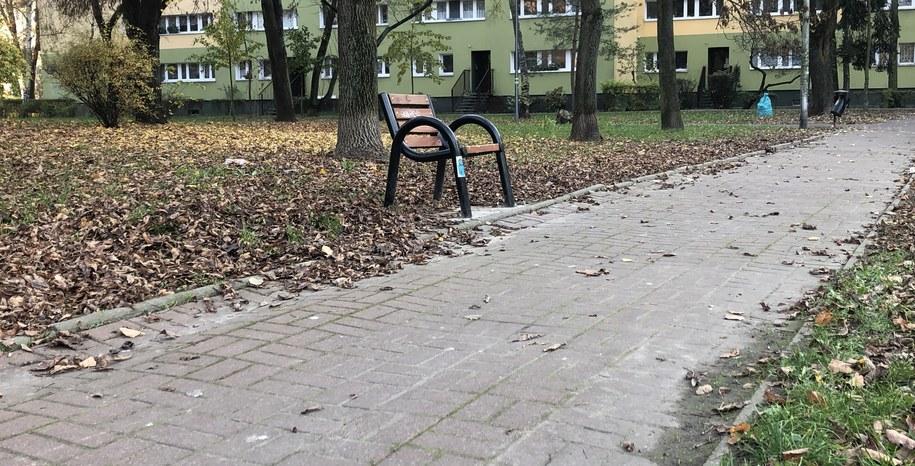 Jednoosobowe ławki przyciągają coraz więcej zainteresowanych w Warszawie /Michał Dobrołowicz /RMF FM