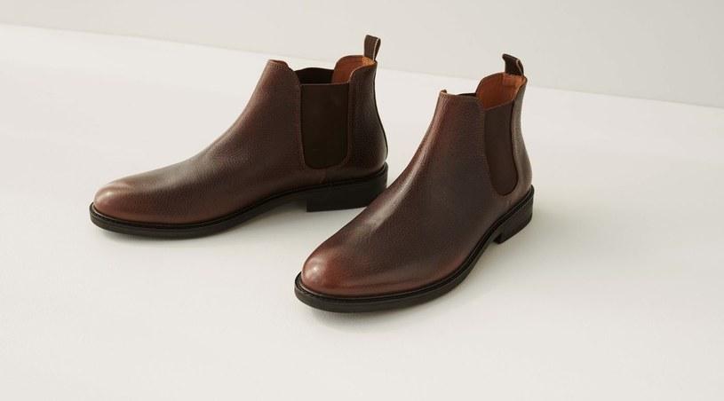 Jednym z eleganckich rodzajów męskiego obuwia są trzewiki /materiały promocyjne