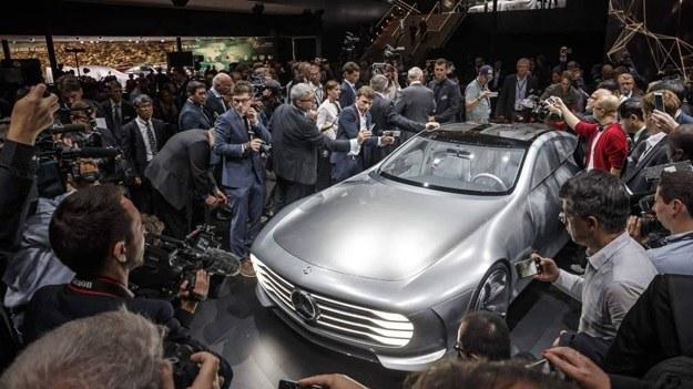 Jednym z naciekawszych prototypów pokazanych we Frankfurcie jest Mercedes Concept IAA /INTERIA.PL