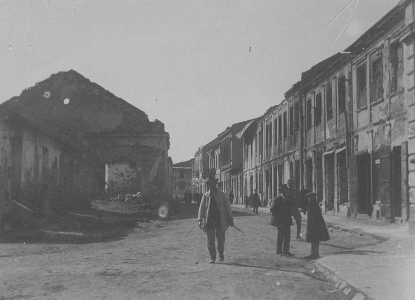 Jednym z najbardziej zniszczonych polskich miast w czasie Wielkiej Wojny były Gorlice /domena publiczna
