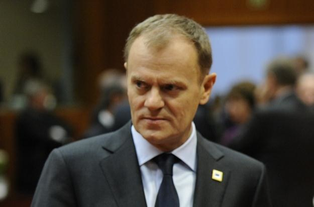 """Jednym z """"żółwi"""" PiS-u został premier Donald Tusk /AFP"""
