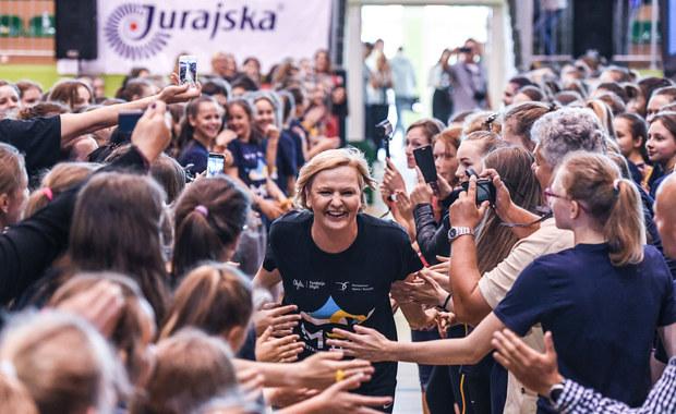 Jędrzejczak, Swoboda i Ennaoui na specjalnej lekcji wf w Sosnowcu