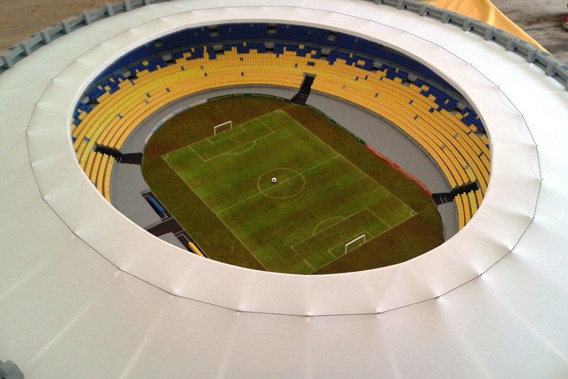 Jedyna w Europie kopia stadionu Maracana /Styl.pl/materiały prasowe