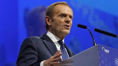 Jedyny kandydat, 93 procent głosów. Donald Tusk wybrany na szefa Europejskiej Partii Ludowej
