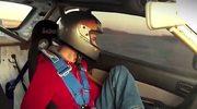 Jedyny kierowca sportowy na świecie, który prowadzi... stopą na Targach Moto Show 2014!