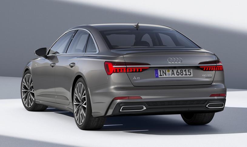 Jedynym z wyróżników nowego Audi A6 jest w pełni diodowe oświetlenie, które, szczególnie w nocy, podkreśla nowoczesność i elegancję modelu. /