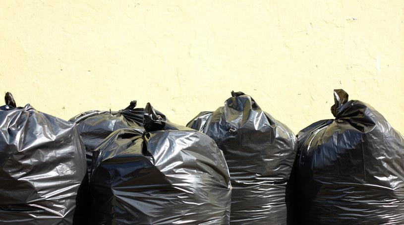 Jedzenie było trzymane m.in. w workach na śmieci (zdj. ilustracyjne) /123RF/PICSEL