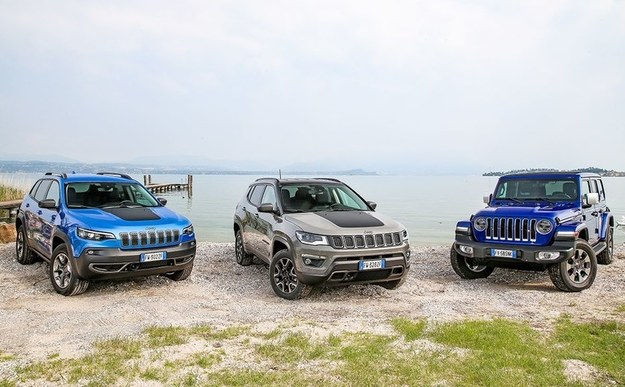 Jeep Cherokee, Compass i Wrangler /Jeep