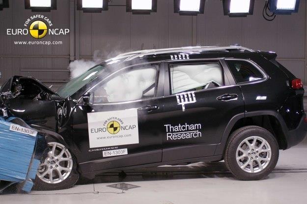 Jeep Cherokee to bezpieczny samochód /