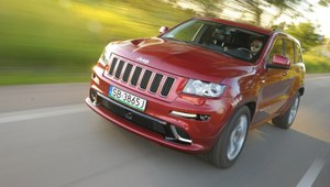Jeep Grand Cherokee SRT8 - test