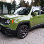 Jeep Renegade 75th Anniversary - test
