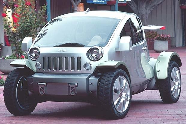 Jeep Treo (kliknij) /INTERIA.PL