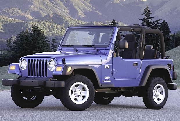 Jeep Wrangler X (kliknij) /INTERIA.PL
