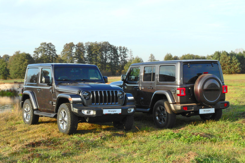 Jeep Wrangler /INTERIA.PL