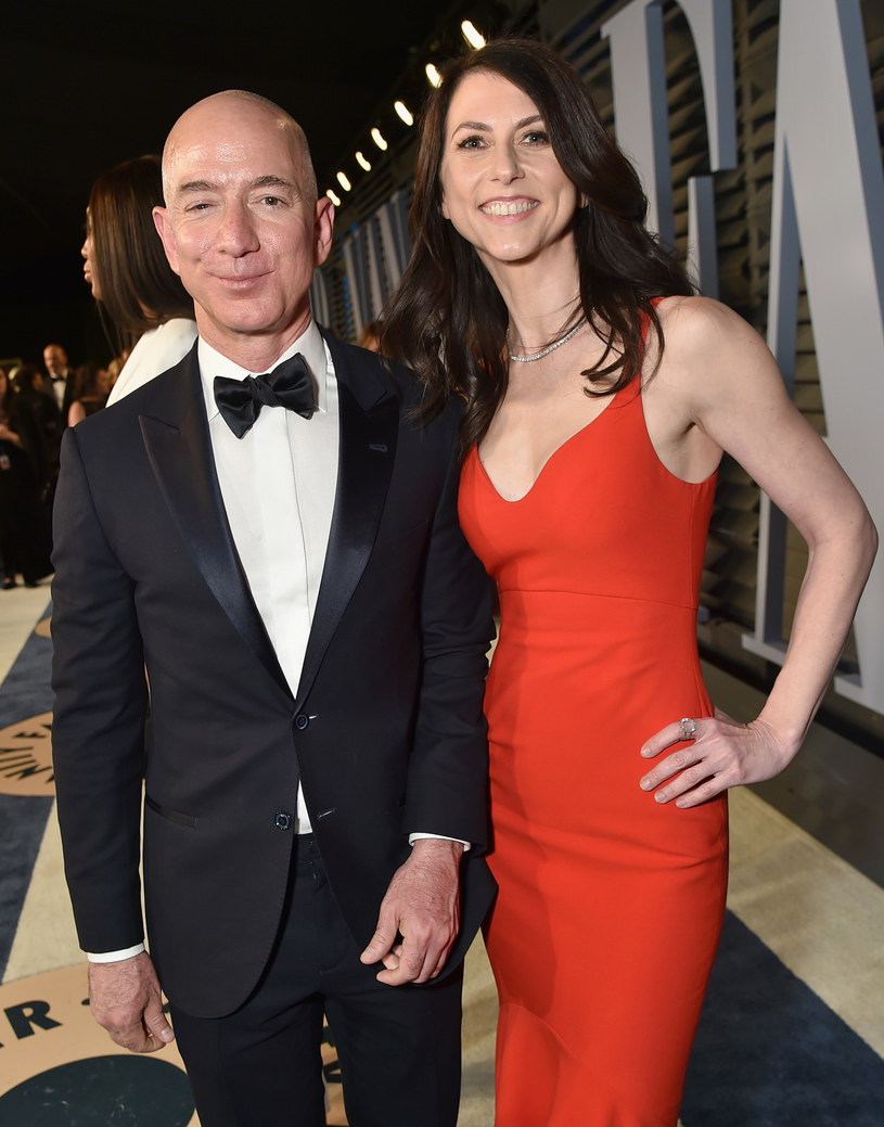 Jeff Bezos i MacKenzie Bezos /Mike Coppola /Getty Images