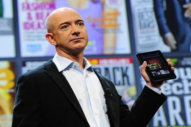 Jeff Bezos już wkrótce pokaże następcę tabletu Kindle Fire /AFP