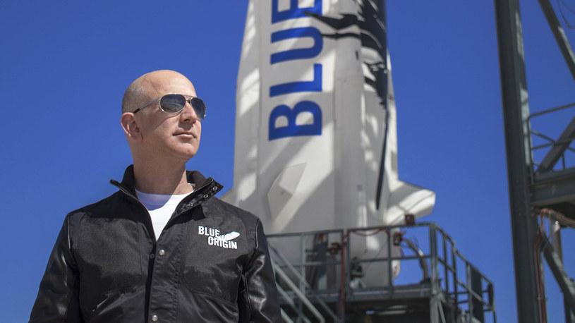Jeff Bezos marzył o locie w kosmos od dziecka /materiały prasowe