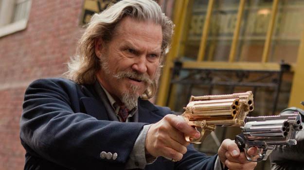 """Jeff Bridges w filmie """"R.I.P.D. Agenci z zaświatów"""" /materiały dystrybutora"""
