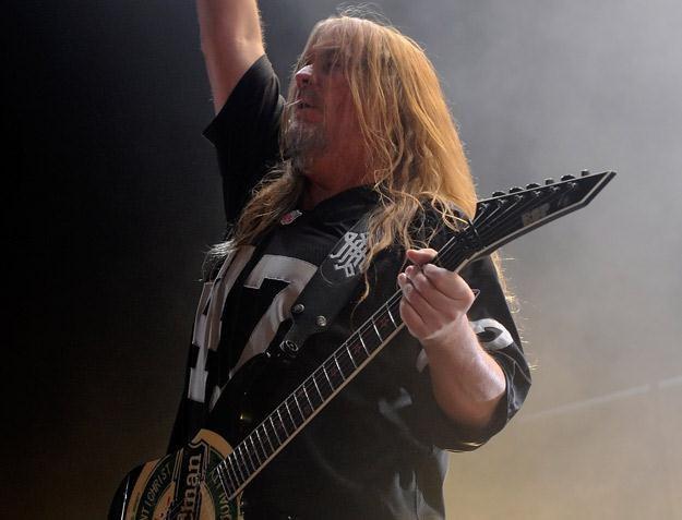 Jeff Hanneman, gitarzysta Slayera - fot. Ethan Miller /Getty Images/Flash Press Media
