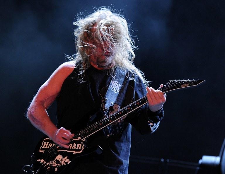 Jeff Hanneman /AFP