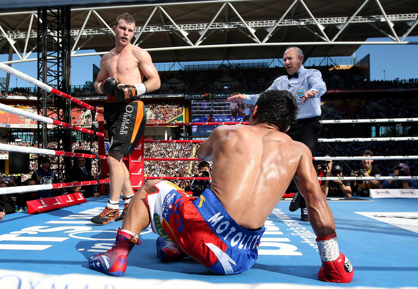 Jeff Horn (z lewej) /Getty Images