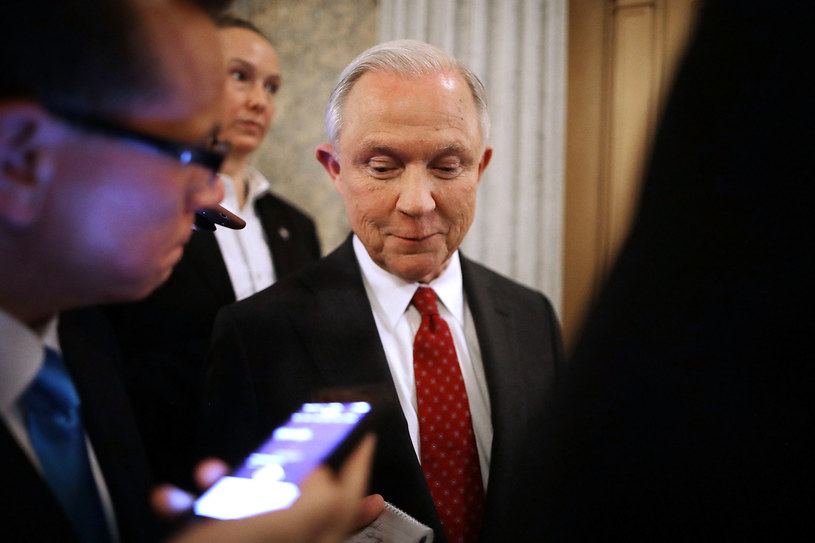 Jeff Sessions /CHIP SOMODEVILLA / GETTY IMAGES NORTH AMERICA / /AFP