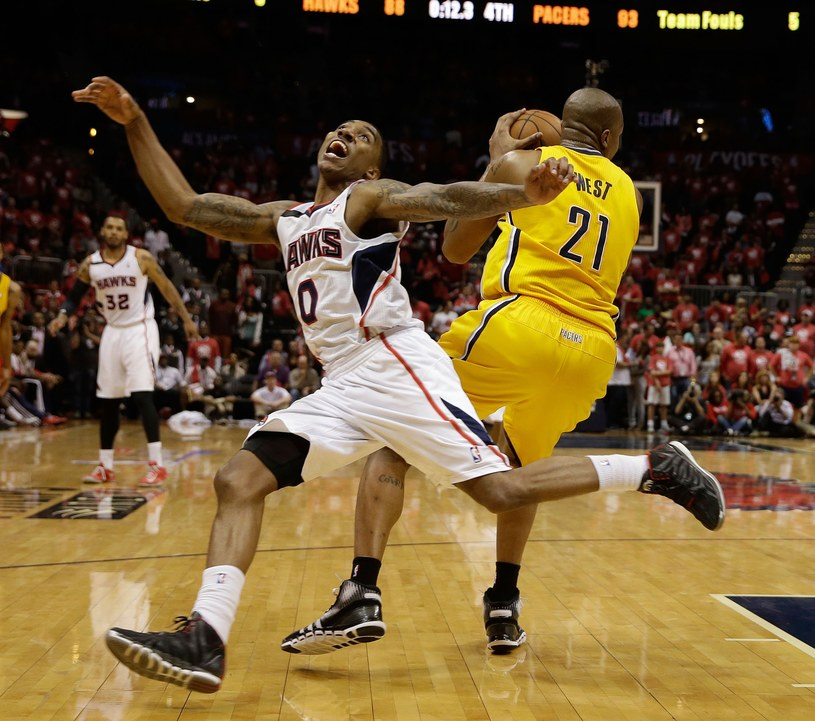 Jeff Teague z Atlanta Hawks /AFP