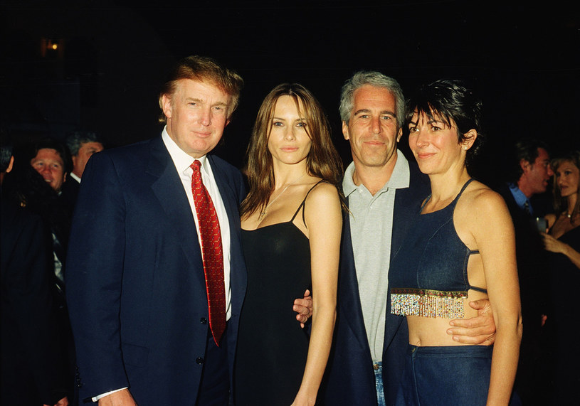 Jeffrey Epstein i Donald Trump /Contributor /Getty Images