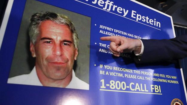 Jeffrey Epstein zmarł 10 sierpnia /JASON SZENES    /PAP/EPA