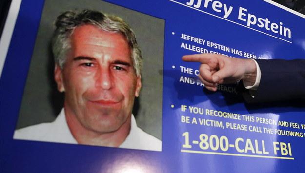 Jeffrey Epstein /JASON SZENES    /PAP/EPA