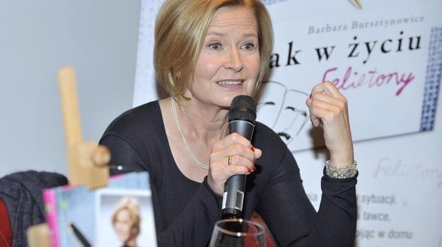 """Jej """"Jak w życiu"""" to zbiór krótkich felietonów. Łatwo się je czyta - przekonuje aktorka/fot. Niemiec /AKPA"""