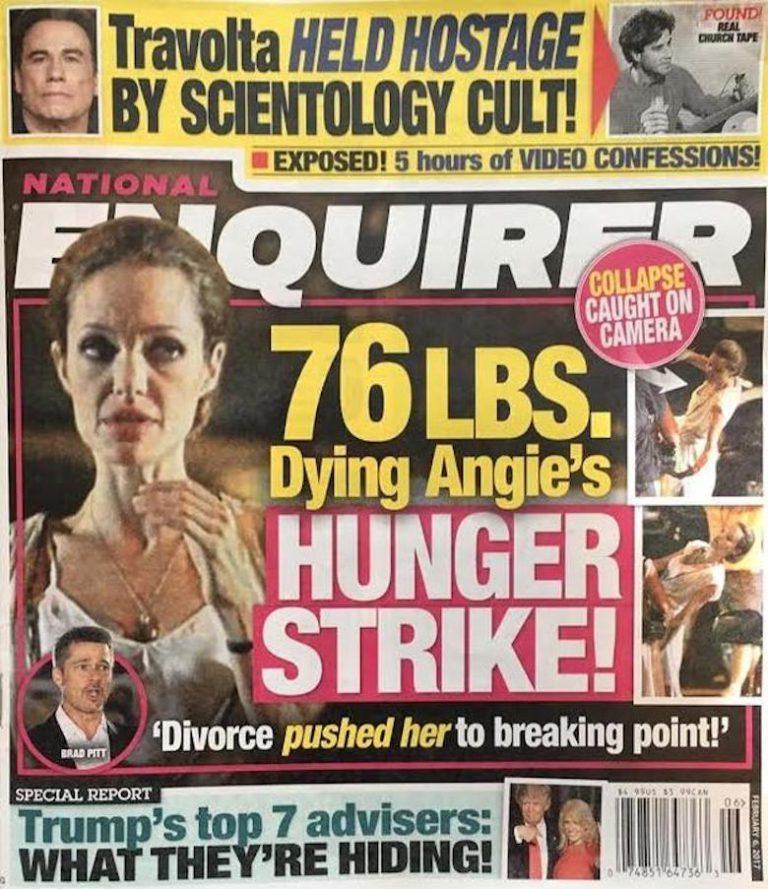 Jej niezdrowym wyglądem media szokują już od dłuższego czasu! /materiały prasowe