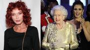 Jej suknię podziwiała królowa
