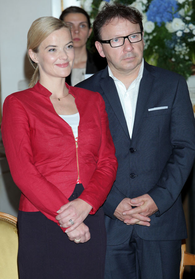 Jej związek ze Zbigniewem Zamachowskim jest bardzo medialny i budzi wiele kontrowersji /Paweł Wrzecion /MWMedia