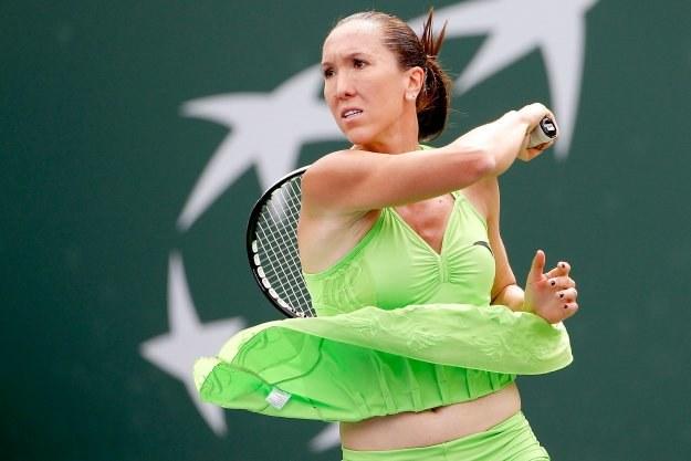 Jelena Janković pokonała w finale turnieju Indian Wells Karolinę Woźniacką. /AFP