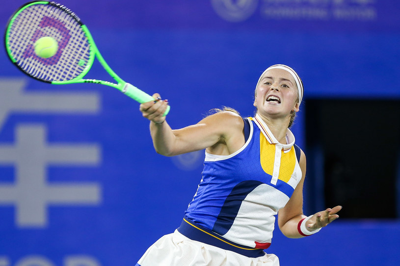 Jelena Ostapenko /Yifan Ding /Getty Images