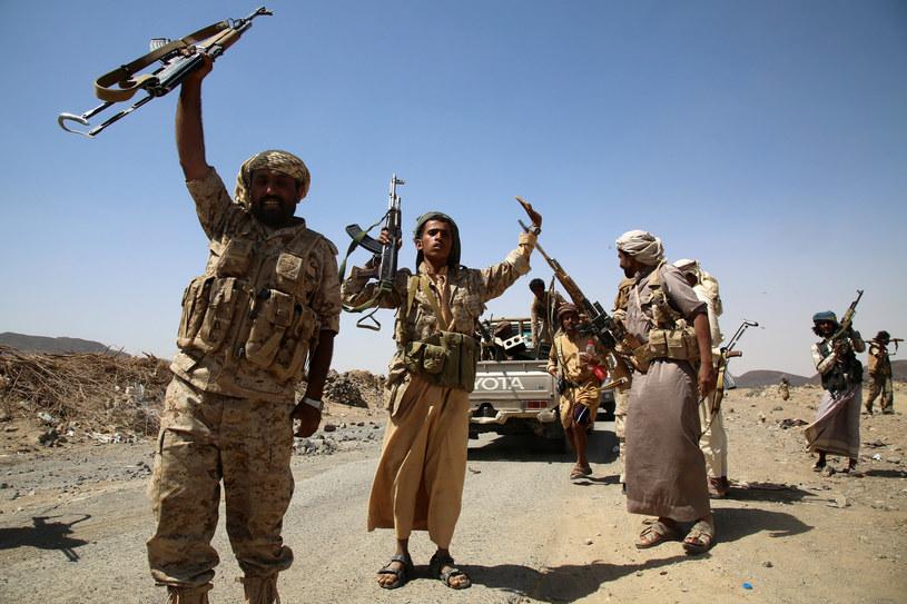 Jemen: Bojownicy wspierający prezydenta al-Hadiego /AFP