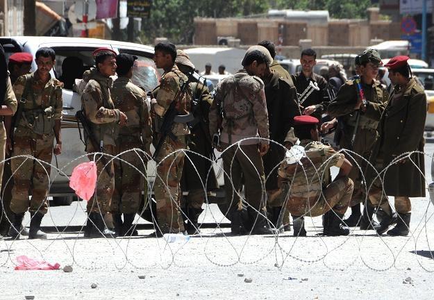 Jemeńskie siły rządowe /AFP