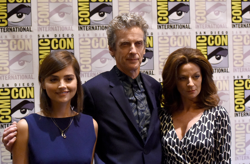 Jenna Coleman, Peter Capaldi, Michelle Gomez / Jason Merritt /Getty Images
