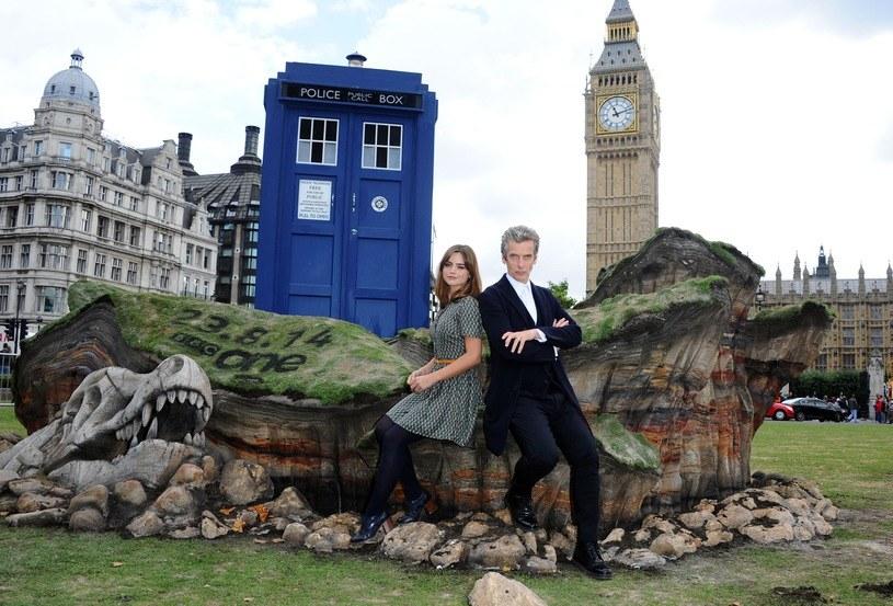 Jenna Coleman, Peter Capaldi /Stuart C. Wilson /Getty Images