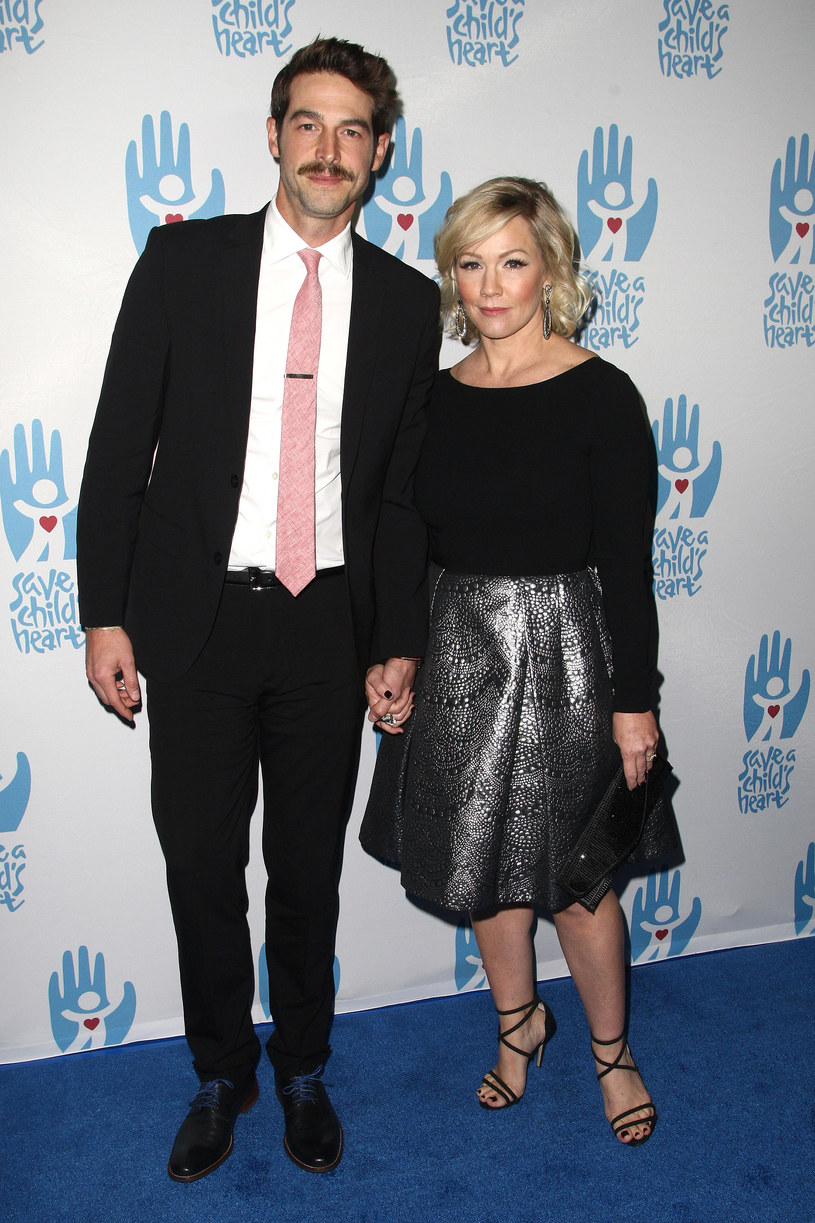 Jennie Garth i Dave Abrams /Tommaso Boddi /Getty Images