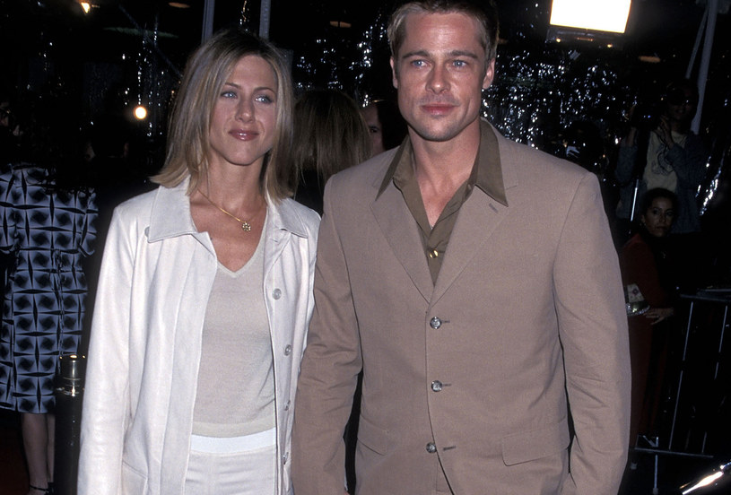 Jennifer Aniston i Brad Pitt, 2001 rok /Ron Galella /Getty Images