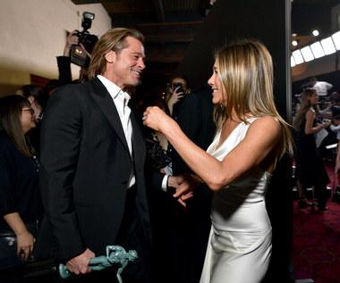 Jennifer Aniston i Brad Pitt znów są blisko