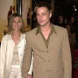 Jennifer Aniston i Brad Pitt /