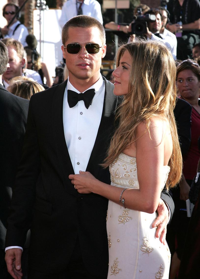 Jennifer Aniston i Brad Pitt /Getty Images