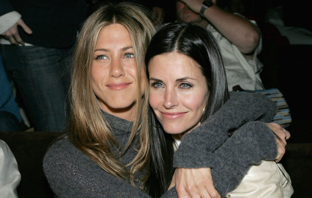 Jennifer Aniston i Courteney Cox /Alberto E. Rodriguez /Getty Images