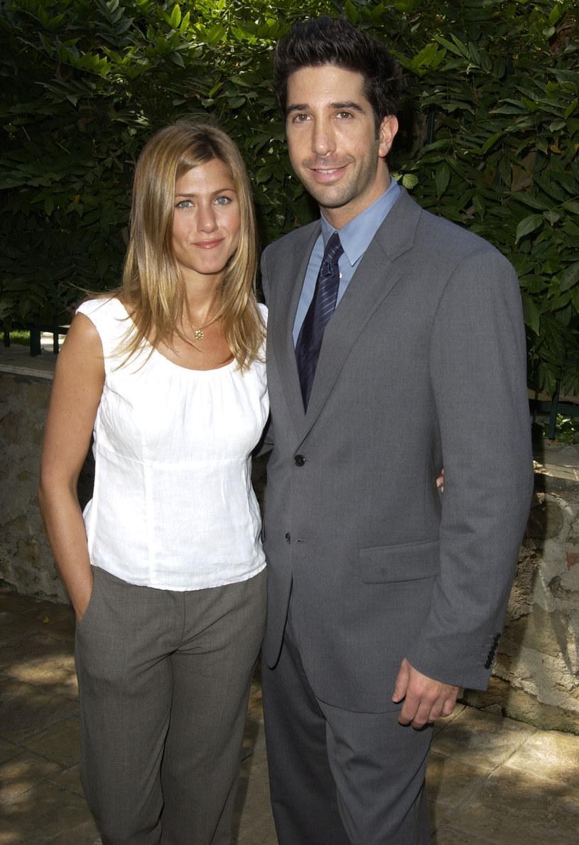 Jennifer Aniston i David Schwimmer /SGranitz/WireImage