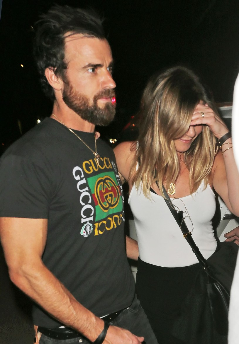 Jennifer Aniston i jej mąż Justin Theroux