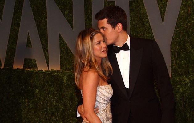Jennifer Aniston i John Mayer, fot. Alberto E. Rodriguez  /Getty Images/Flash Press Media